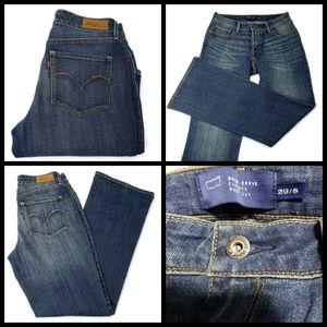 Levi's San Francisco jeans, boot cut, size 29, blu
